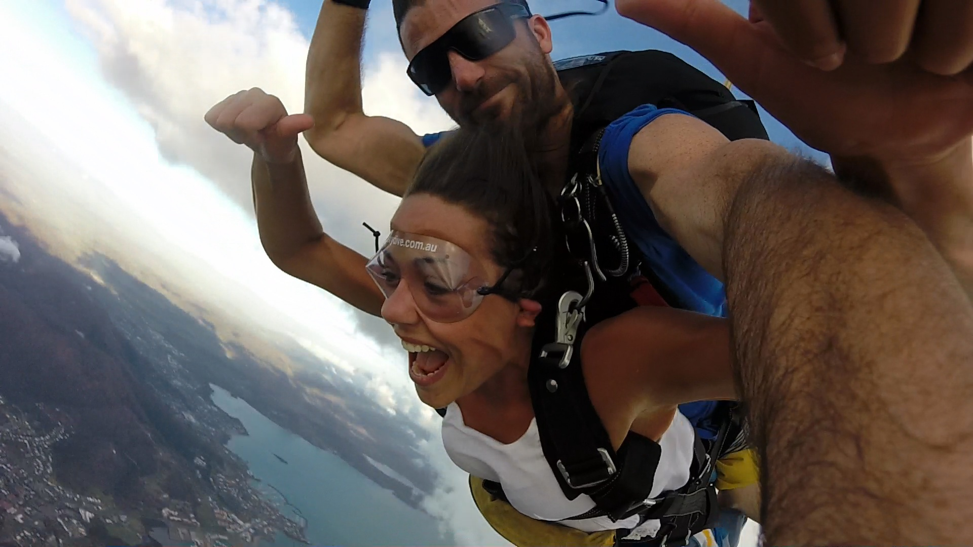 Skydiving over the Whitsunday Islands